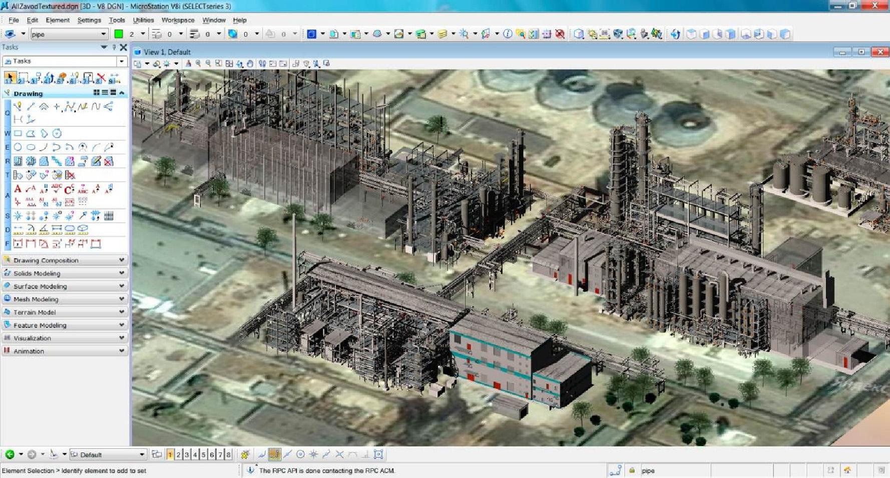 3DLS.ru - Создание цифровой 3D модели цехов завода Тольяттикаучук